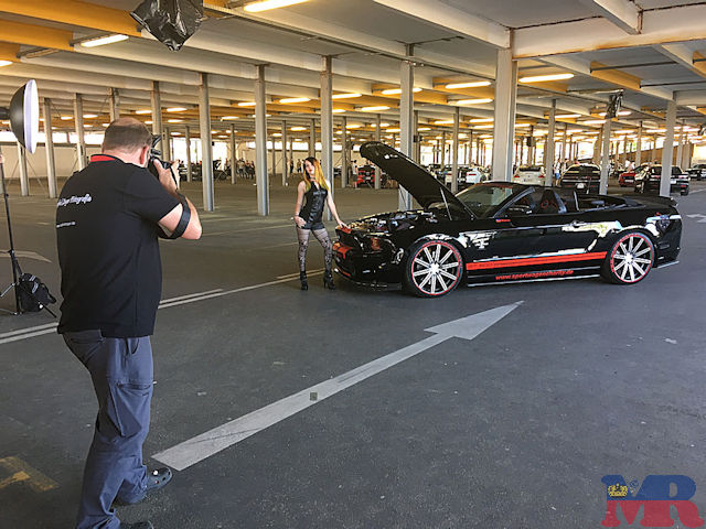 Ford Mustang Shelby GT500 Cabrio Fotoshooting
